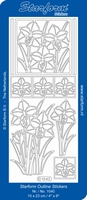 Stickervel Starform 1040 Narcis