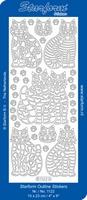 Sticker Dieren Starform 1122 Poezen
