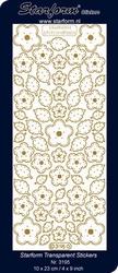 Borduursticker Starform 3195 Bloemen & blaadjes