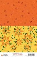 A5 Lucido Patch papier LUPA06 oranje zonnetje