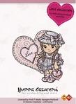 Stempel Yvonne Creations 10015 Love Girl