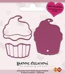 Yvonne's Cut & Emboss Die 10006 Love Cupcake