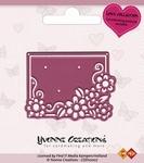 Yvonne's Cut & Emboss Die 10007 Love Flowerframe