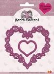 Yvonne's Cut & Emboss Die 10004 Love Hearts