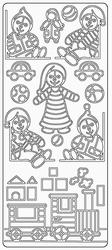 Sticker Kind Elisabeth Craft Designs 0319 Speelgoed