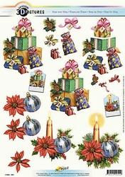 3D Kerstknipvel Universal Pictures 301 Pakjes