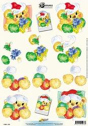 3D Kerstknipvel Universal Pictures 276 Kerstbeertjes