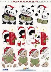 Morehead A4 Stansvel 323 Panda-pingiun-beertje