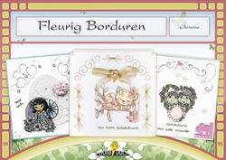 Hobbydols  93 Fleurig Borduren + poster