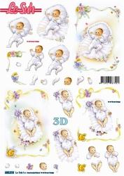 Le Suh 3D Stansvel 680018 Geboorte/baby's
