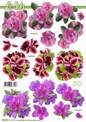Le Suh 3D Stansvel 680015 Bloemen