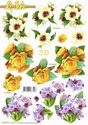Le Suh 3D Stansvel 680014 Bloemen