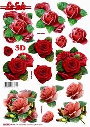 Le Suh 3D Stansvel 680004 Rozen