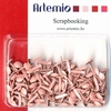 Artemio brads 11006201 mini rondjes baby roze