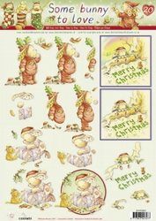 A4 Knipvel Studio Light Some bunny to love 20