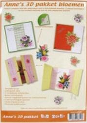 3D Pakket Anne's Design bloemen