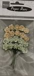 MD Paper Roses RB2217 green-offwhite