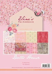 MD Pretty Papers bloc PB7042 Eline's Doll House