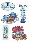 MD clear stamps Els Weezenbeek EWS2207 Coffee time