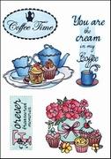 MD clear stamps Els Weezenbeek EWS2207 Coffee time