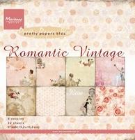 MD Pretty Paper Bloc PK9093 Romantic vintage