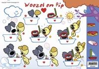A4 Knipvel Woezel en Pip WP10022 In de wolken
