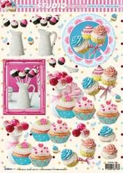 A4 Knipvel Studio Light SL1193 Cake pops