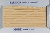 Fashion ruitjeslint pepita 603 geel