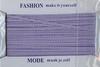 Fashion ruitjeslint pepita 656 paars