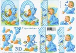 A4 Knipvel Le Suh 4169619 Geboorte Baby/jongen
