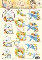 A4 Knipvel Studio Light Cats & dogs 21