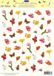 A4 Knipvel Studio Light JBS 03 Janneke Brinkman Mini bloemen