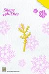 Nellie's Shape Die SD012 Thorny branch