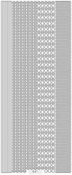 Sticker 47 Starform  841 Diverse randen golf/recht/ketting