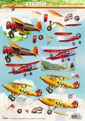 A4 Knipvel Studio Light SL 1226 Heren Vliegtuigen