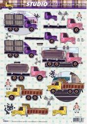 A4 Knipvel Studio Light SL 1227 Vrachtwagens/truc