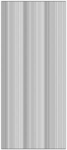 Stickervel Jeje 1785 Verschillende diktes rechte lijn