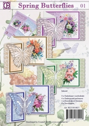 Creatief art Basispakket RE2530-0027 vlinders 1