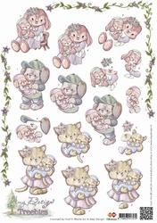 3D Knipvel Amy Design CD10272 Treebies geboorte