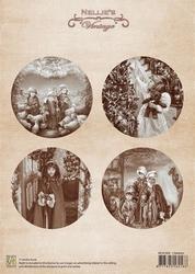 A4 Vel Nellie's Vintage Christmas Nevi009 Children