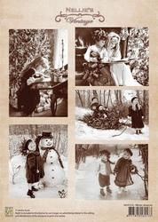 A4 Vel Nellie's Vintage Christmas Nevi010 Winter pleasure
