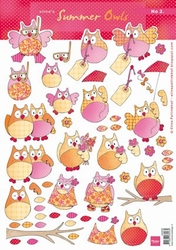 A4 Knipvel MD Eline AK0058 Summer owls 2