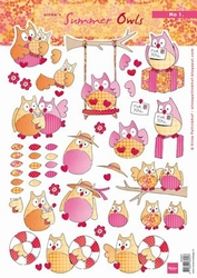 A4 Knipvel MD Eline AK0057 Summer owls 1