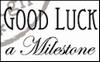 MD clear stamps CS0884 teksten Engels Good luck