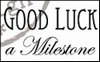 MD clear stamps CS0884 teksten Engels Good luck