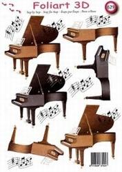 A4 Knipvel Foliart 629 Piano