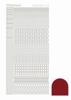Stickervel Hobbydots Mirror STDM154 Red