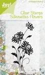 Joy! Clear stamps 6410-0051 Silhouettes flowers