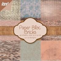 Joy! Papierblok 6011-0015 Brics/brikken