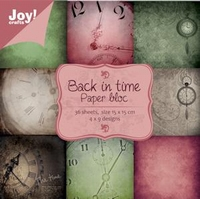 Joy! Papierblok 6011-0020 Back in time